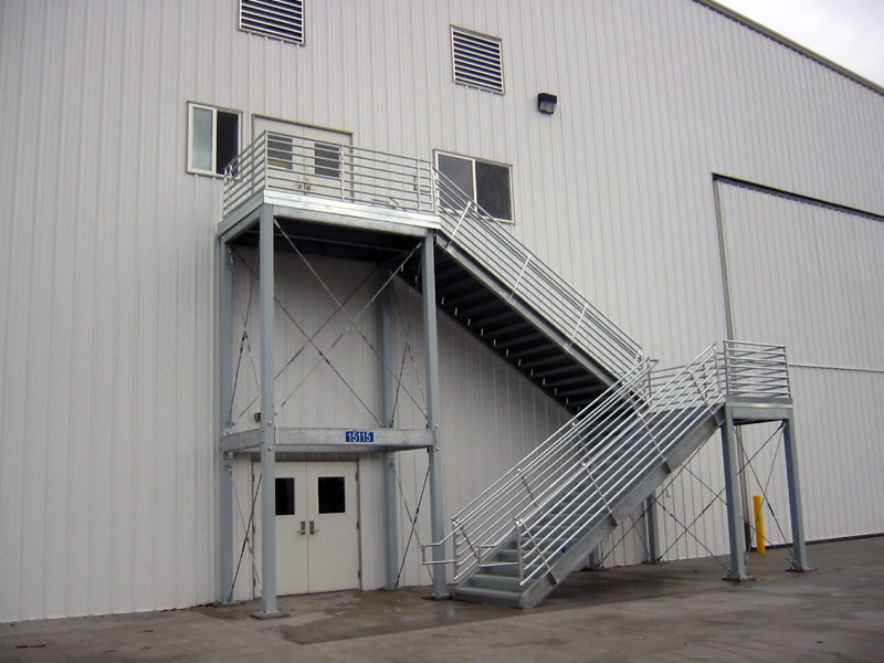 Mezzanine Stairs Mezzanine Landings Stair Tower Systems