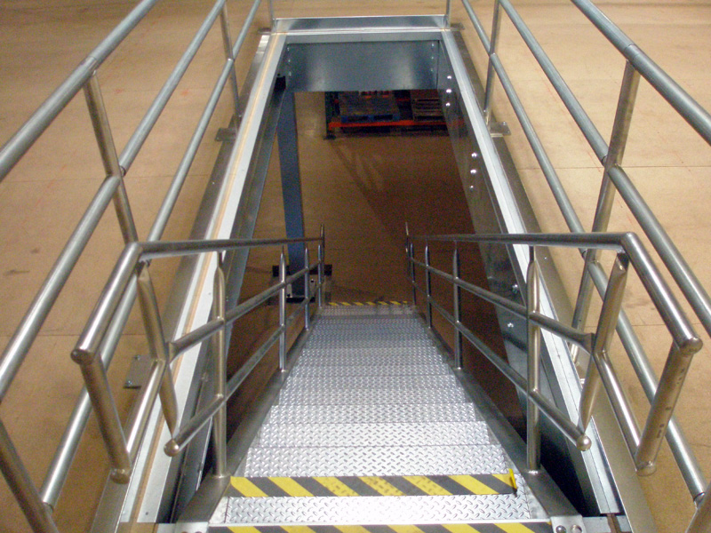 Stair Landing Systems